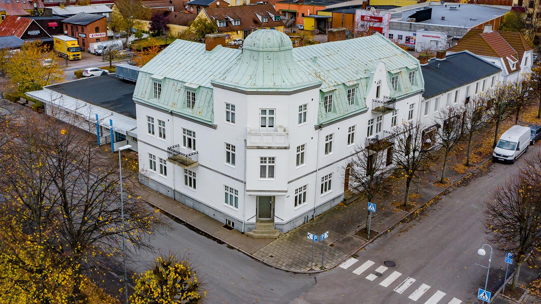 Allégatan 11 & 9, Östra nygatan 2, Klippan